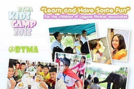 Laguna Phuket hosts kid's summer camp