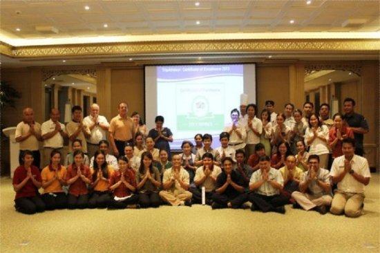 Dusit Thani Phuket scoops TripAdvisor Certificate of Excellence