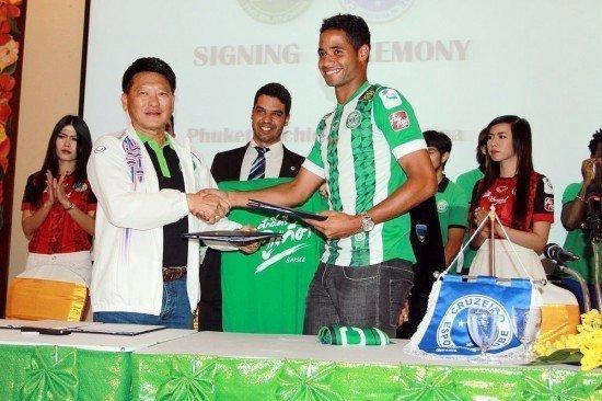 Phuket FC announces Cruzeiros partnership
