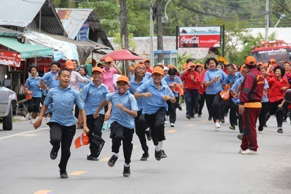 Vichit holds 2013 Phuket Tsunami Training Exercise
