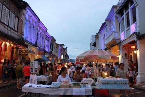 Phuket opens Lard Yai Walking Street
