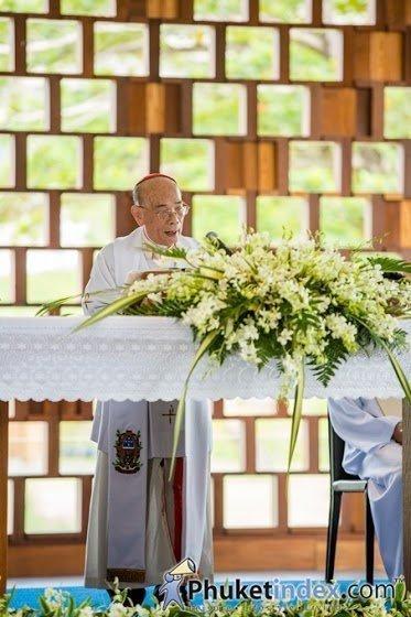 The Naka Phuket holds Solemnly Blessed Ceremony