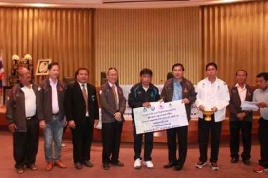 Phuket athletes competing in 42nd Sapanburi Games