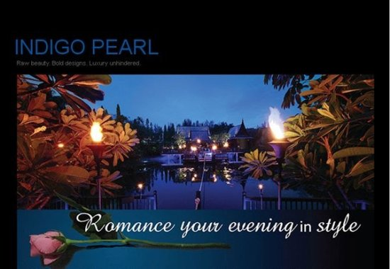 Romance your evening in style at Phuket's Indigo Pearl