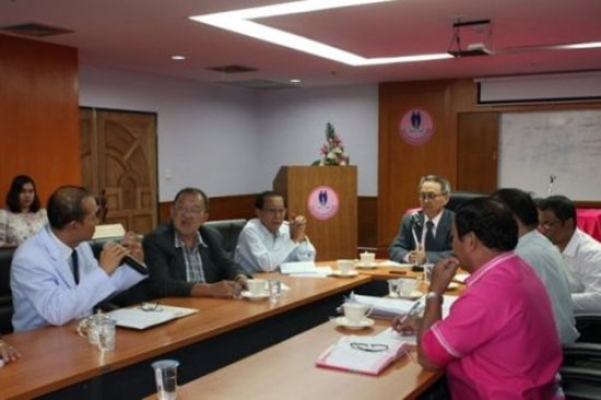 Phuket PAO hold Management Meeting