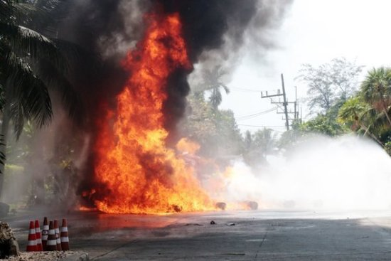 Phuket holds fire protection training event