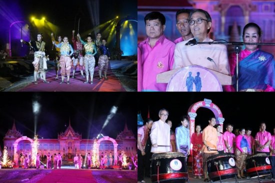 Phuket's Light & Sound Extravaganza for its Two Heroines