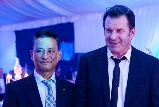 Sir Nick Faldo makes special guest appearance in Phuket