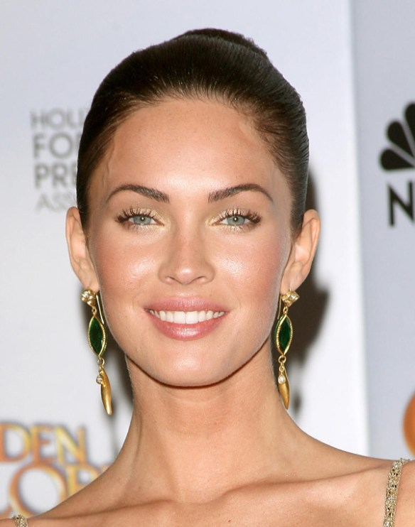 megan fox son visage type forme