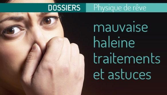 luter contre la mauvaise haleine halitos bouche