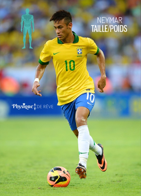 Neymar-taille-poids-mensuration-sexy-foot-bresil