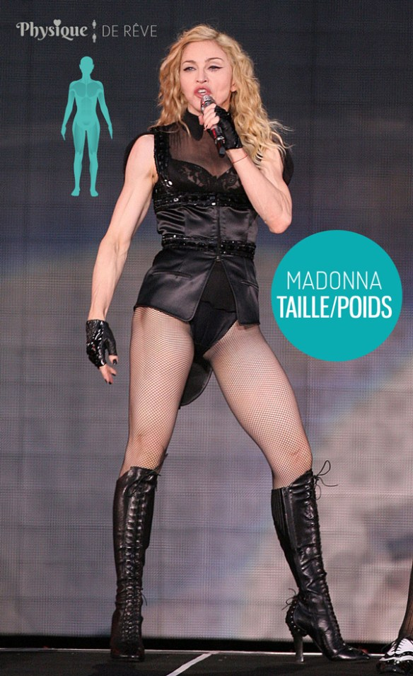 Madonna-taille-poids-mesurations-sexy