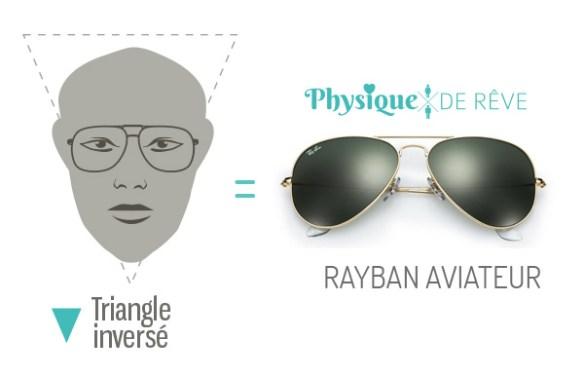 Ray-Ban--aviateur-visage-forme-coeur-lunettes