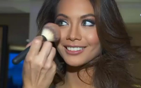 yeux vert Miss france 2019 Tahiti Vaimalama Chaves