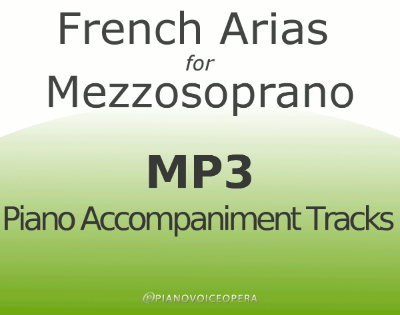 French Arias for Mezzosoprano