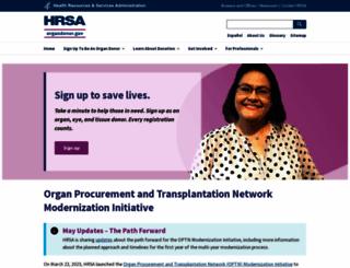 Access organdonor.gov. Organ Donor | Organ Donor