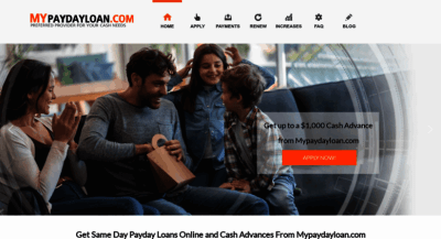 MyPaydayLoan.com Reviews - Apply Online
