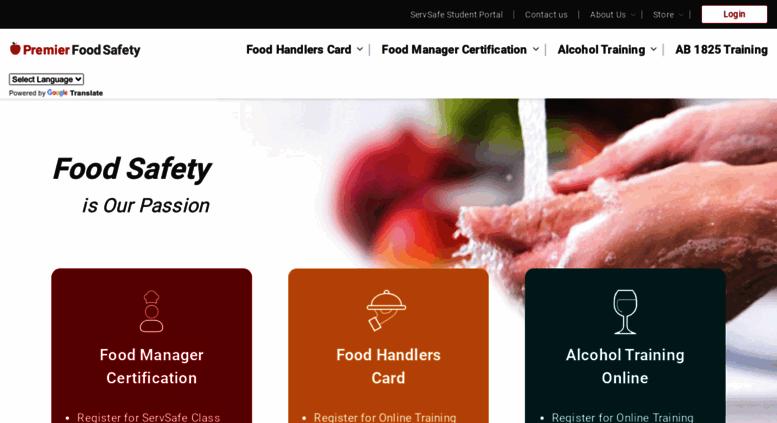 Food Handlers License Texas Servsafe Texas Food Handlers