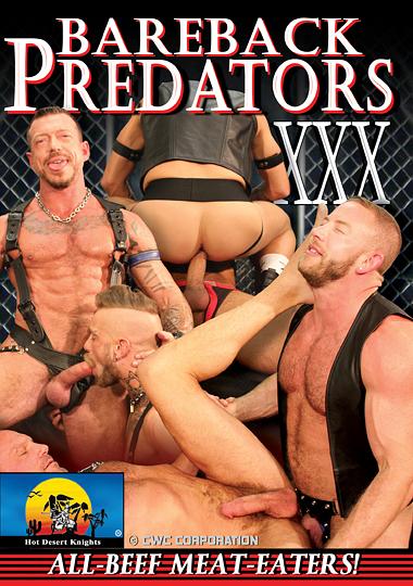 Bareback Predators XXX cover