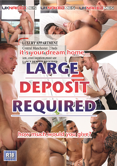 Large Deposit Required cover