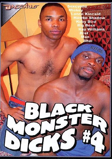 Black Monster Dicks 4 cover