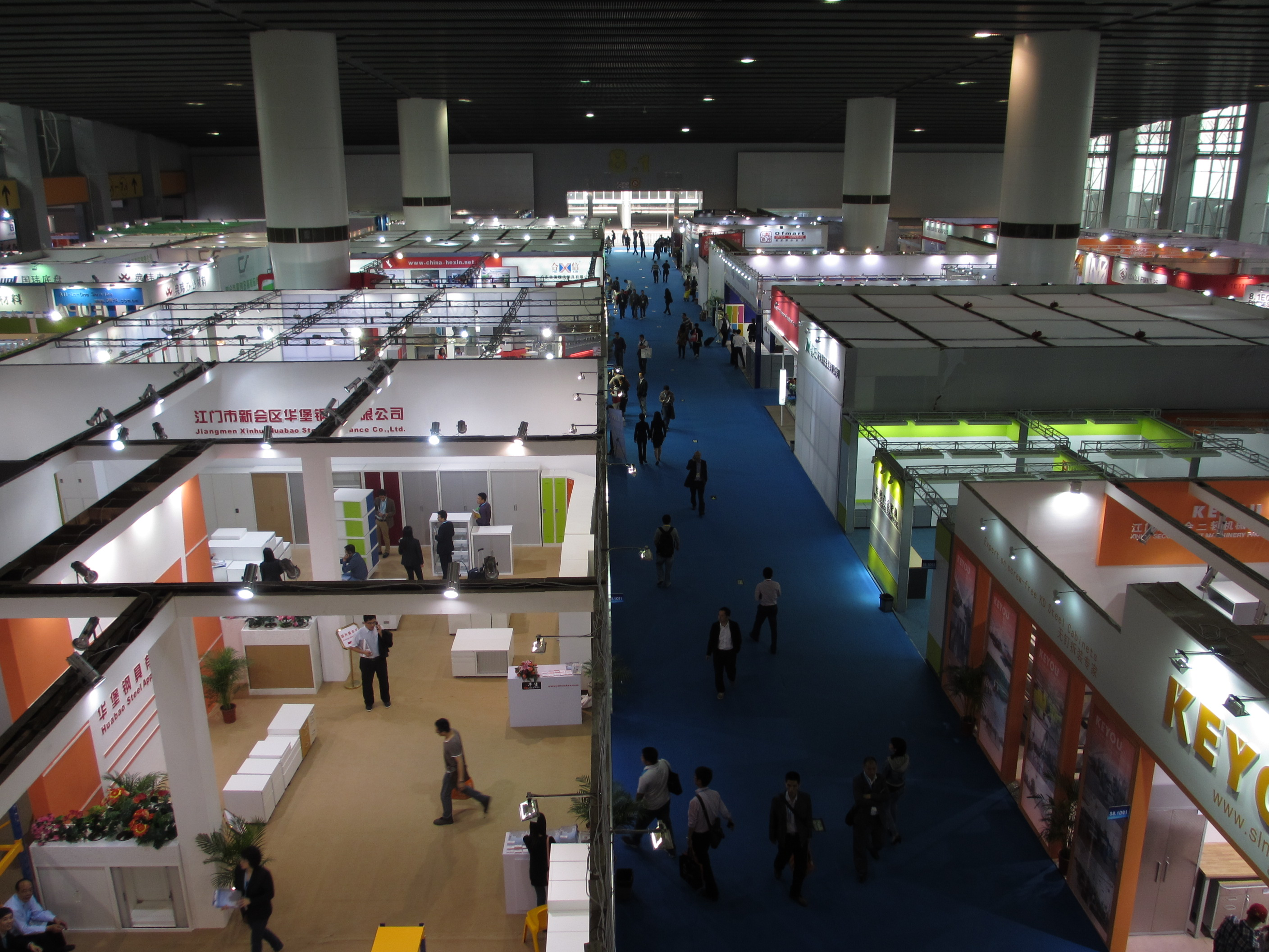 office furniture trade shows. office furniture trade shows museum crowded w