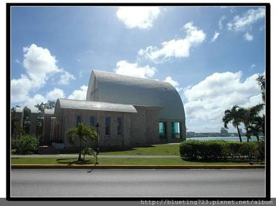 美國關島《NIKKO HOTEL日航飯店》聖維多利亞教堂San Vitores Bayside Chapel.jpg