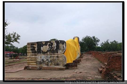 泰國大城府《Ayutthaya大城》羅卡雅蘇塔寺WAT LOKAYA SUTHARAM臥佛3.jpg