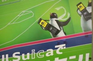史上最強東京悠遊卡…愛的Suica企鵝