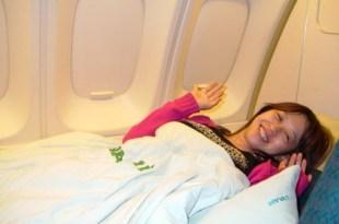 完全免費的頭等艙超爽體驗….從西雅圖飛回台北~