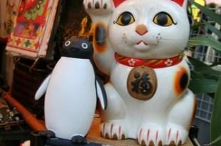 企鵝遊東京…..對啦! 就是企鵝啦