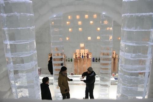 北海道ICE BAR + ICE HOTEL + 冰上露天風呂