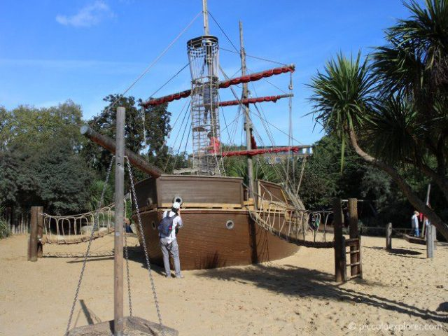 Diana, Princess of Wales Memorial Playground Pirate Ship