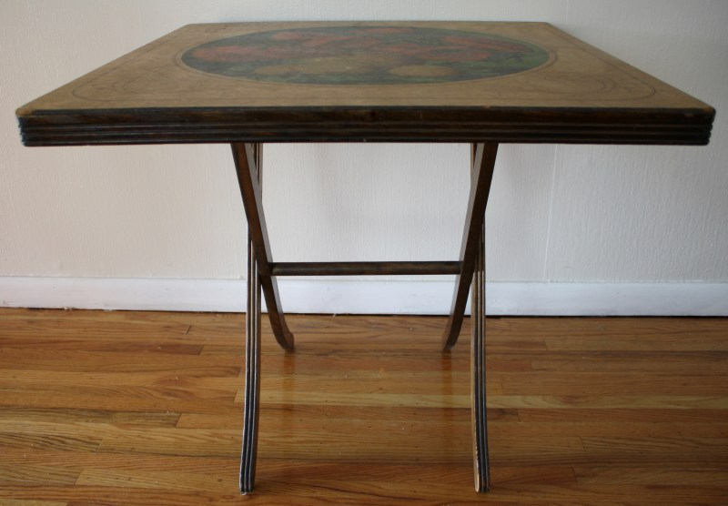Large Of Folding Card Table