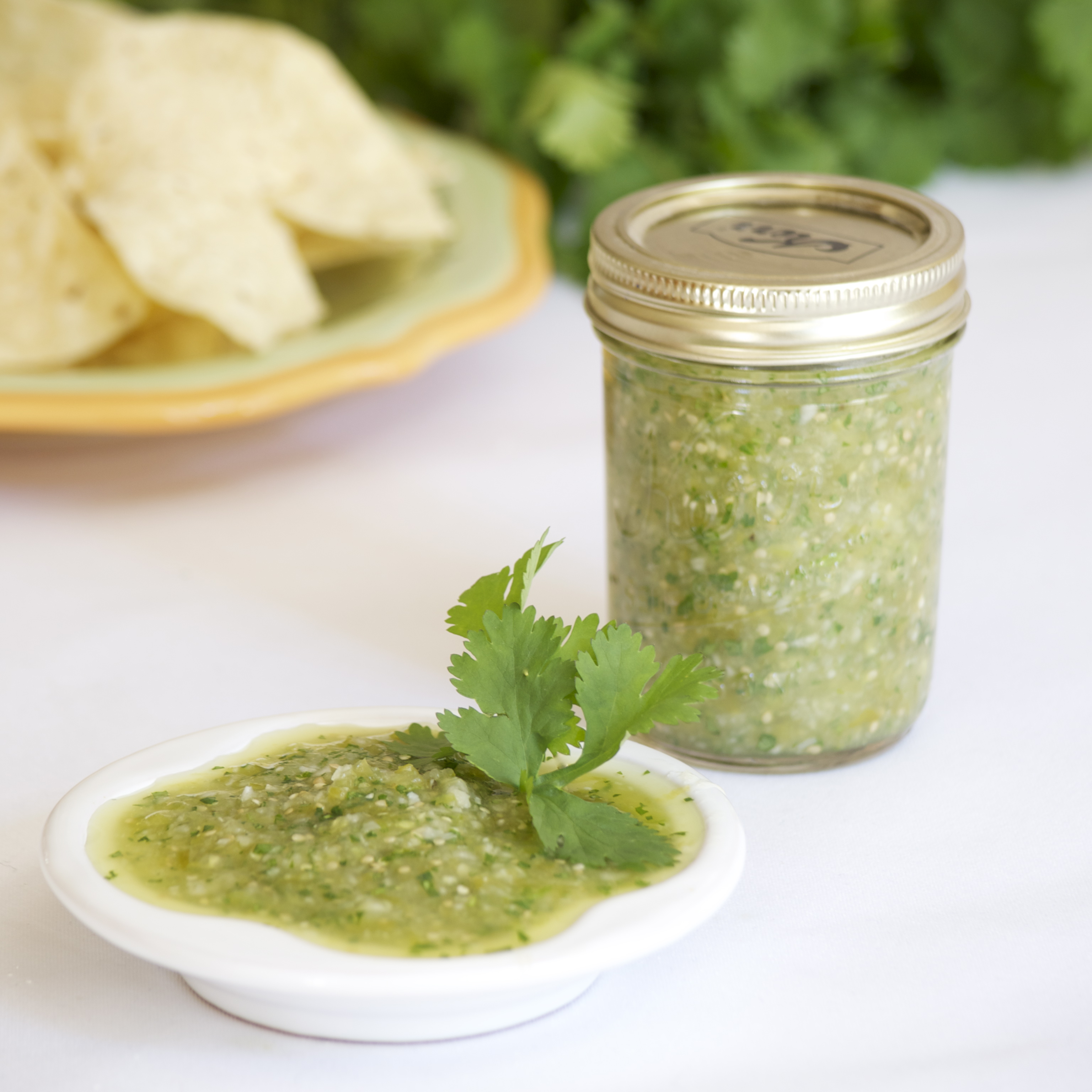 Fresh Roasted Tomatillo Salsa | Pick Fresh Foods
