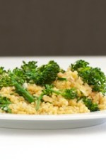 Broccolini Quinoa Pilaf