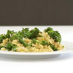 Broccolini Quinoa Pilaf