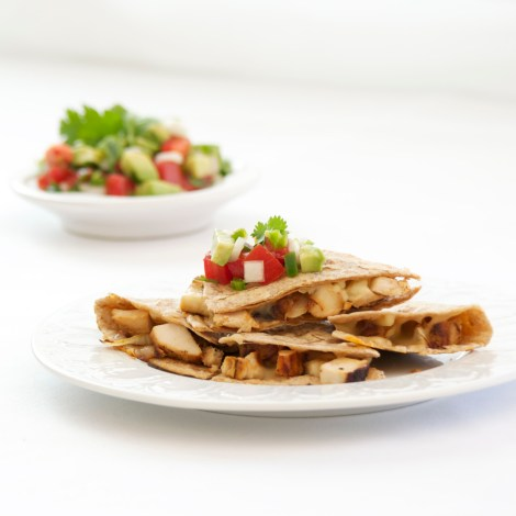 Quick Chicken Quesadillas
