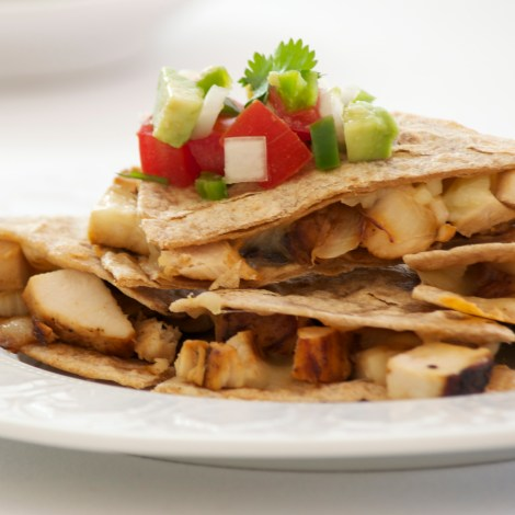 Quick Chicken Quesadilas