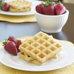 Hearty Oatmeal Waffles
