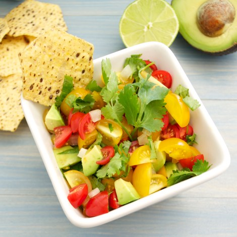 Cherry Tomato and Avocado Salsa
