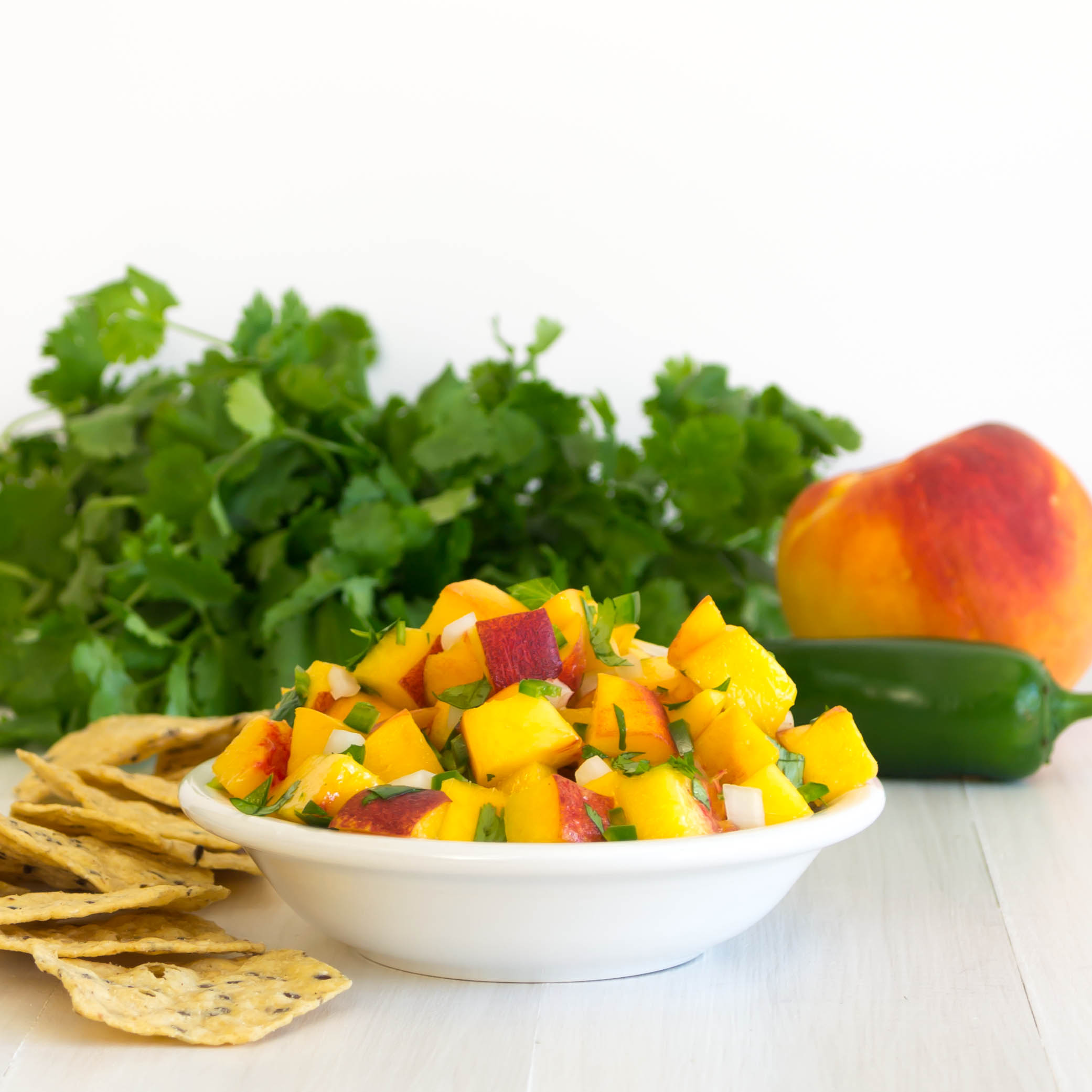 Fresh Peach Salsa | Pick Fresh Foods | Pick Fresh Foods