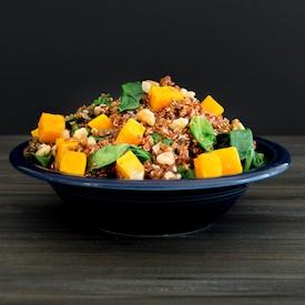 Warm Butternut Quinoa Salad-275