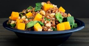 Warm Butternut Quinoa Salad-275