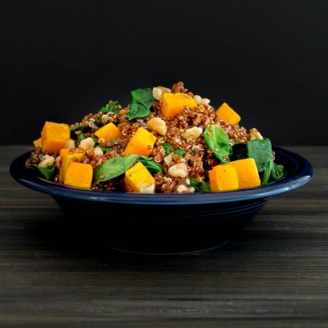 Warm Butternut Squash Quinoa Salad