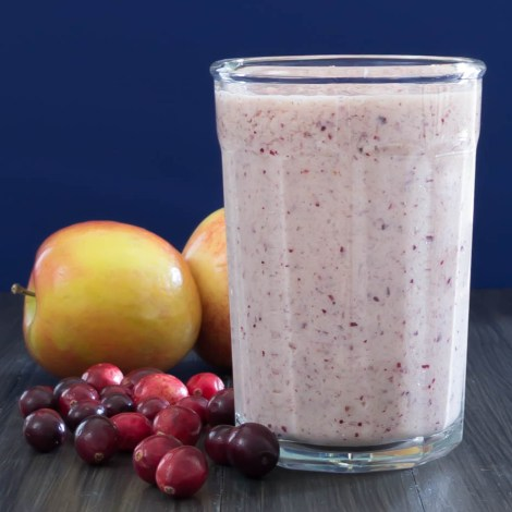Cranberry Apple Smoothie