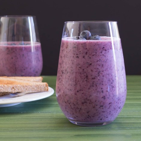 Blueberry Pineapple Smoothie | Pick Fresh Foods