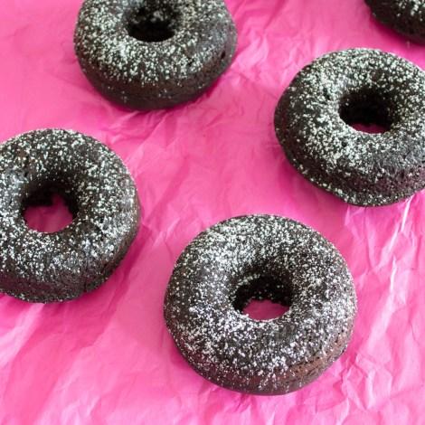 Dark Chocolate Doughnuts   Pick Fresh Foods