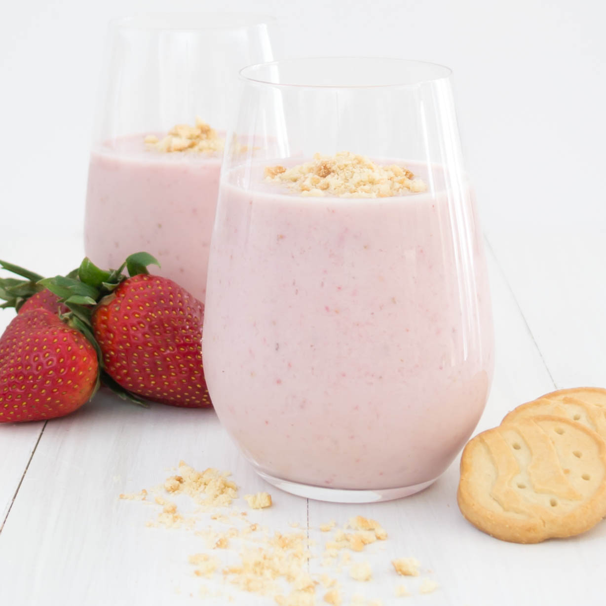 Vegan Strawberry Shortcake Smoothie Recipes — Dishmaps