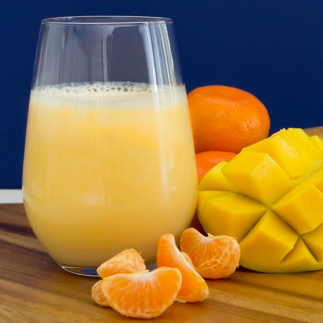 Orange Mango Smoothie | Pick Fresh Foods